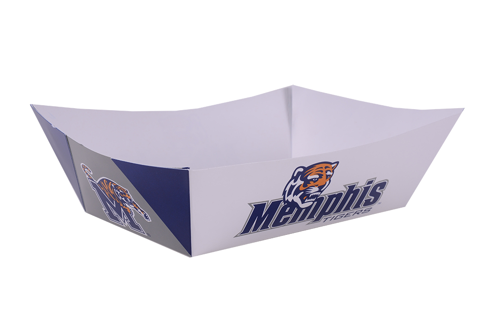 "3lbs Memphis Game Day Food  Tray, (1000) 7-1/5 x 5 x 2"","