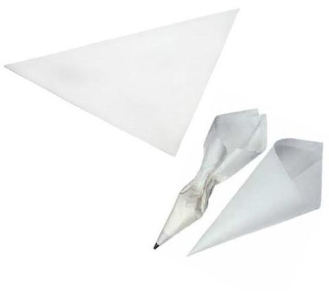 "18"" x 18"" x 25.5"" Parchment Icing Triangle (500)"