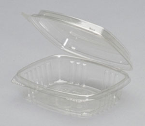 8oz Clear Hinged Hi-Dome Deli Container (200)
