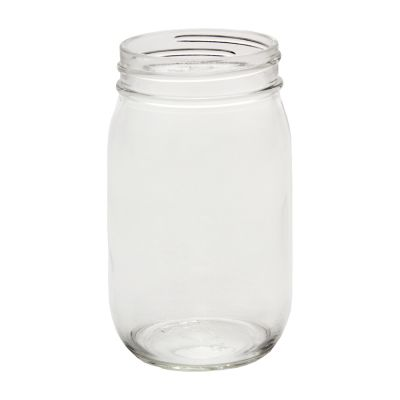 16oz Wide Mouth Glass Jar (12)