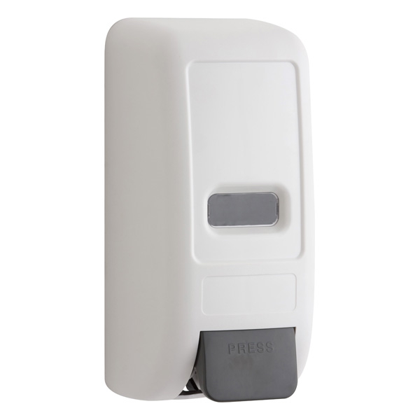 White Manual Dispenser for Foaming Hand Sanitizer