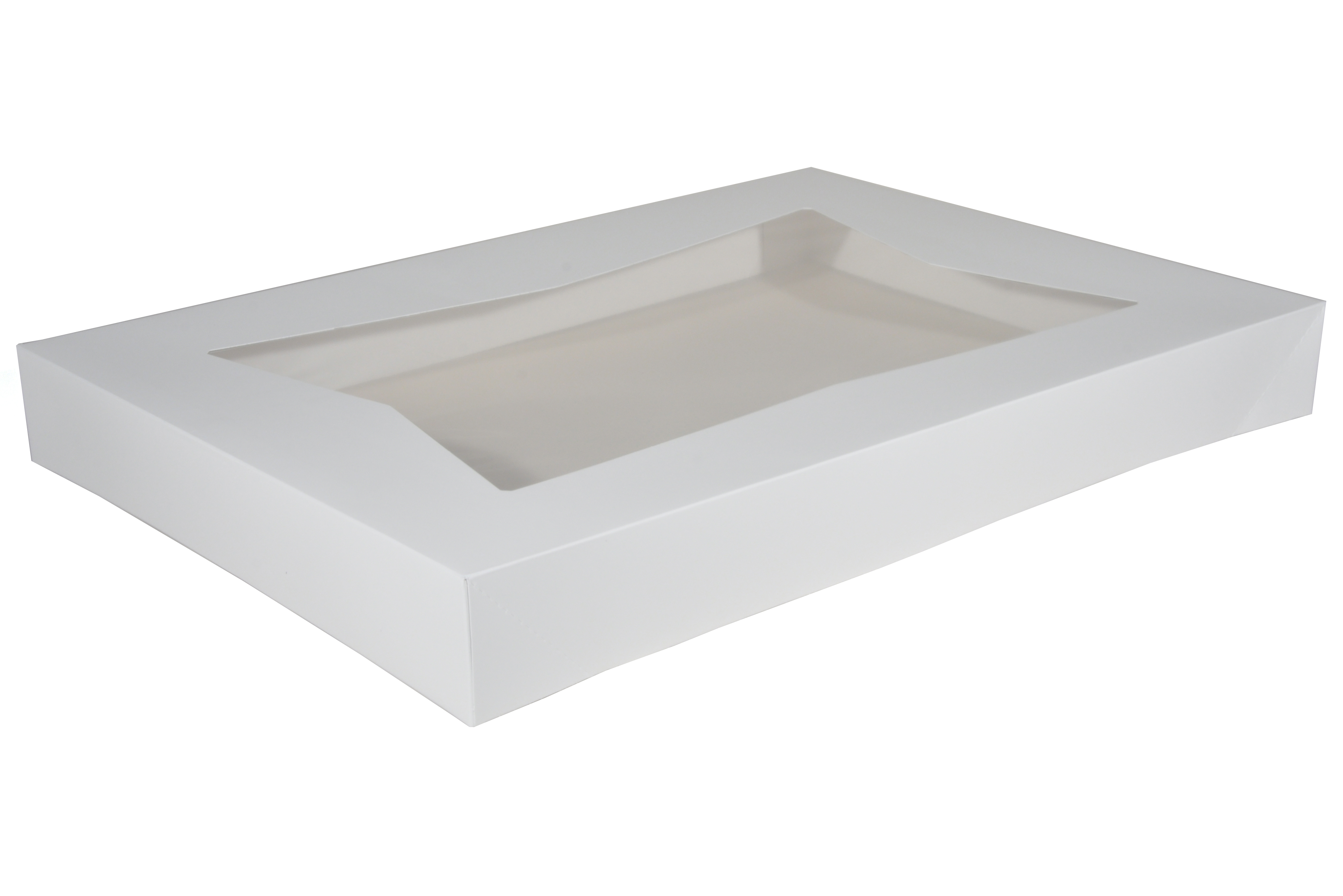 "Full Sheet White Window Top, 26.5""x18.625""x3"" (50)AUTO"