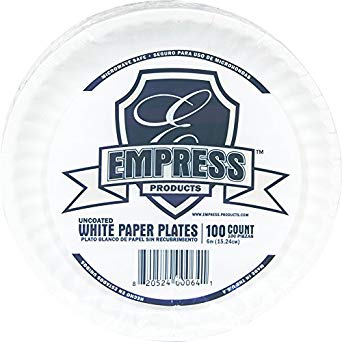 "First Value, Empress 6"" Paper Plate"