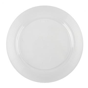 "9"" Clear Plates (144)"