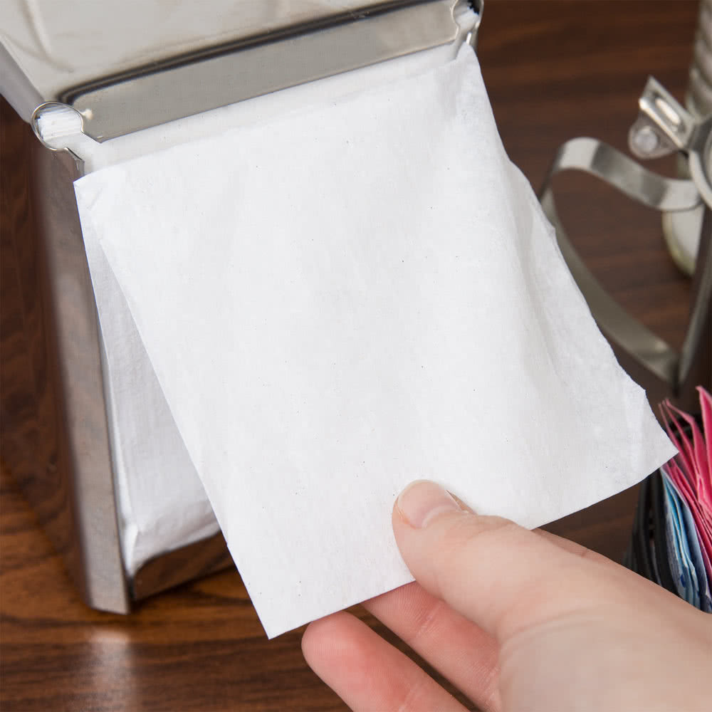 "7"" x 12"" Lowfold Dispenser Napkin (8000)"