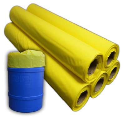 38x63 4mil YELLOW drum liner (50)