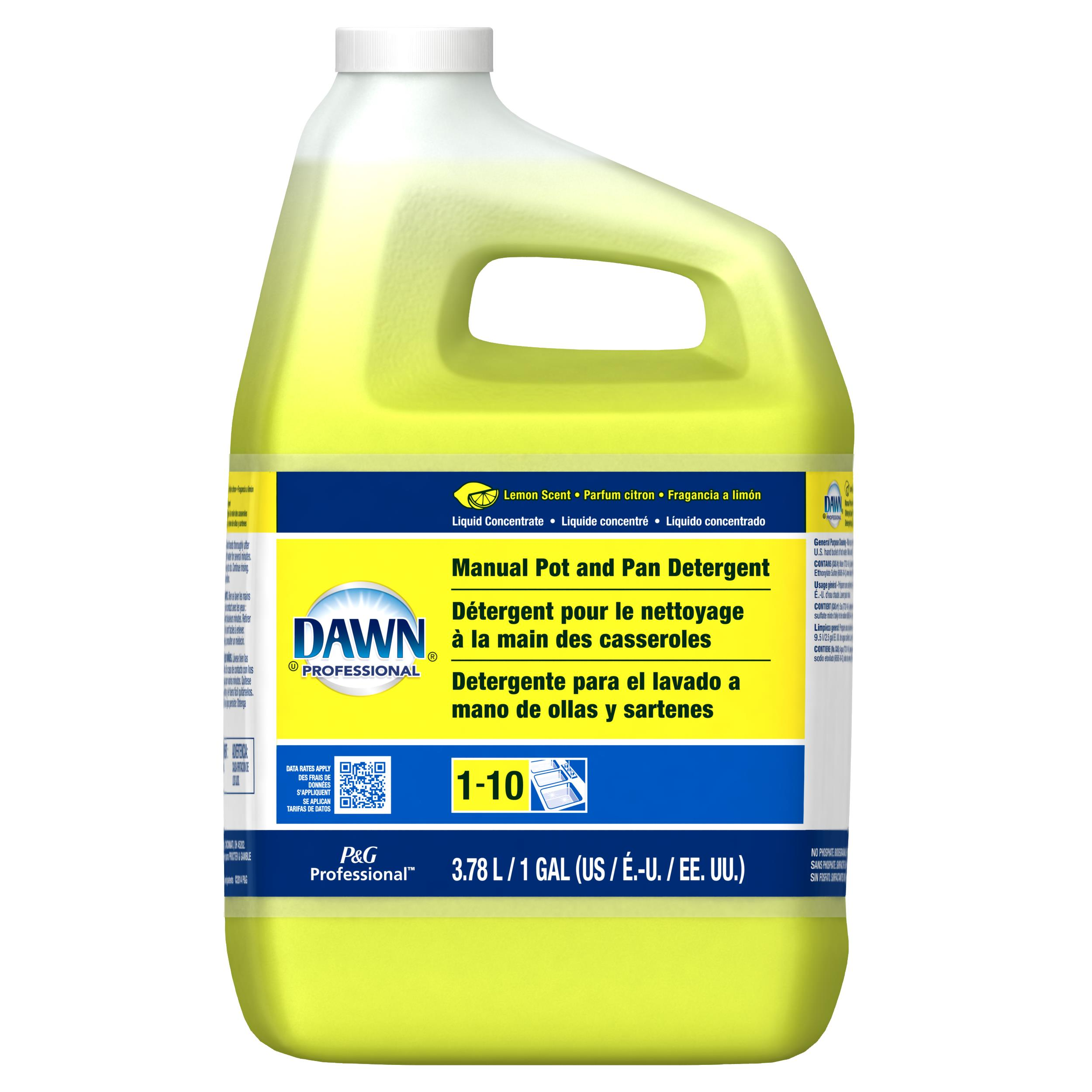 DAWN lemon Dish Detergent (4/1 gal)